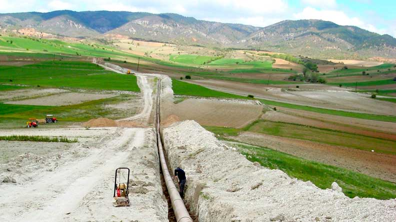 Irrigation de Karadere: